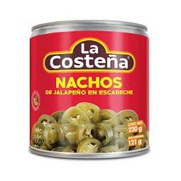 Nachos de chiles jalapeños...