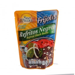 frijoles refritos negros...