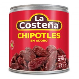Chipotles la costeña 220g