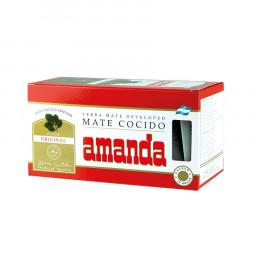 AMANDA MATE COCIDO 25 u