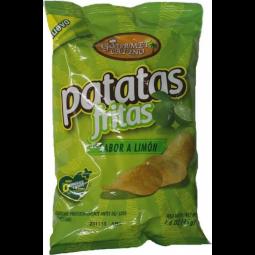Patatas con sabor a limon 65gr