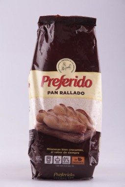 PAN RALLADO PREFERIDO 500G