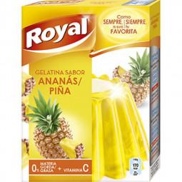 Gelatina Royal sabor piña...
