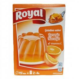Gelatina Royal de naranja...